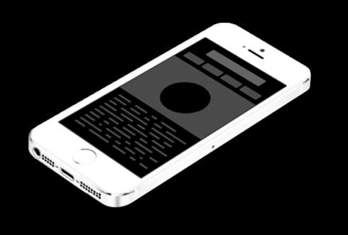 אילוסטרציה אייפון